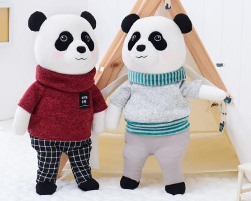 Pelúcia Infantil Panda Metoo Dolls
