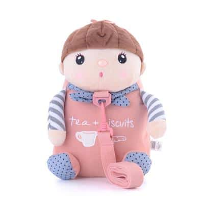 mochila infantil feminina metoo dolls
