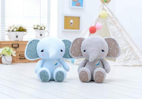pelúcia de pano elefante metoo dolls